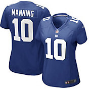 Nike Women's Home Game Jersey New York Giants Eli Manning #10