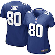Nike Women's Home Game Jersey New York Giants Victor Cruz #80