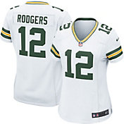 Nike Women's Away Game Jersey Green Bay Packers Aaron Rodgers #12