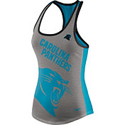 Nike Women's Carolina Panthers Touchdown Grey Tank