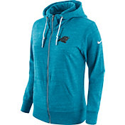 Nike Women's Carolina Panthers Tailgate Vintage Blue Full-Zip Hoodie