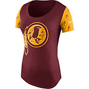 Nike Women's Washington Redskins 1st String Tri-Blend Red T-Shirt
