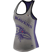 Nike Women's Baltimore Ravens Touchdown Grey Tank