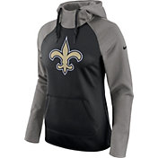 Nike Women's New Orleans Saints Tailgate All-Time Grey Hoodie