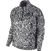 Nike Women's Packable Breaker Half-Zip Printed Jacket