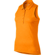 Nike Women's Precision Jacquard Racerback Sleeveless Golf Polo