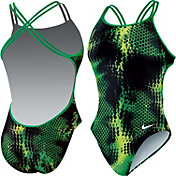 Nike Women's Static Attack Spider Back Tank Swimsuit