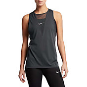Nike Women's Zonal Cooling Relay Running Tank Top