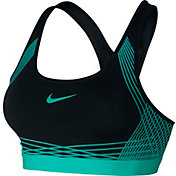 Nike Women's Pro Hyper Classic Medium Support Padded Sports Bra