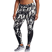 Nike Women's Plus Size Power Epic Lux Geoprism Printed Running Tights