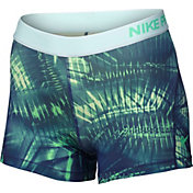 Nike Women's 3'' Pro Cool Notebook Printed Shorts