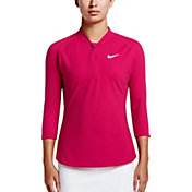 Nike Women's Court Dry Pure Tennis Half-Zip Top