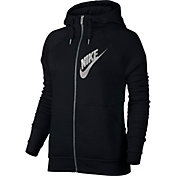 Nike Women's Sportswear Rally Graphic Full Zip Hoodie