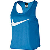 Nike Women's Run Free Swoosh Cool Graphic Running Tank Top