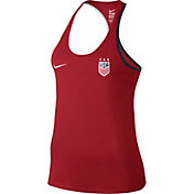 Nike Women's Team USA Crest Graphic Tank Top