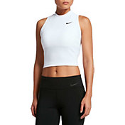 Nike Women's Solid Crop Tank Top