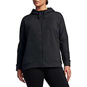 Nike Women's Plus Size Dry Versa Jacket