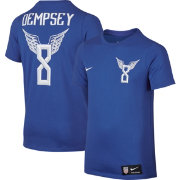 Nike Youth USA Clint Dempsey #8 Blue Player T-Shirt