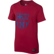 Nike Youth Barcelona Red Crest T-Shirt