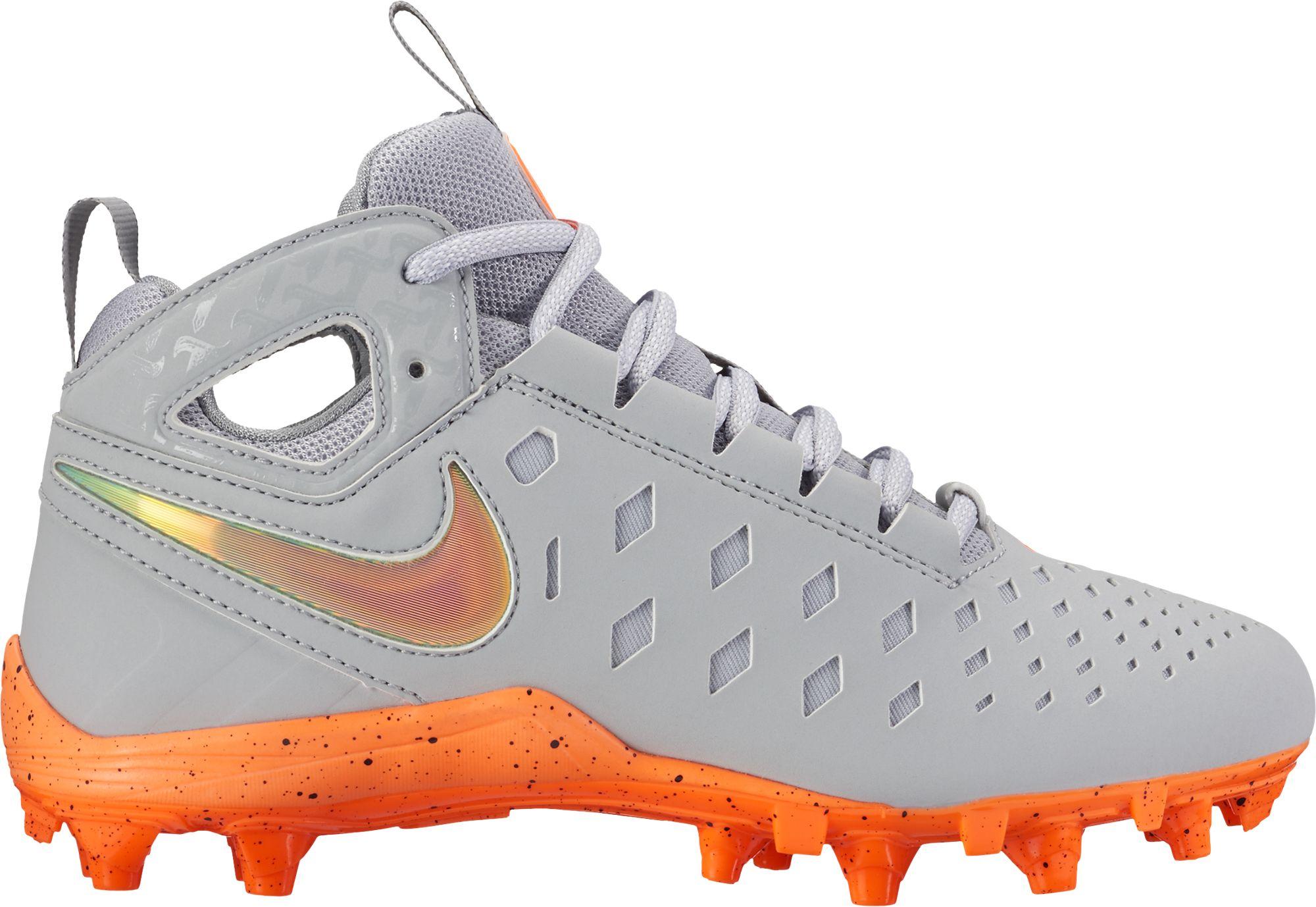 durable modeling Nike Kids Huarache V Lax LE Mid Lacrosse Cleats DICKS  Sporting Goods