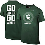 Nike Youth Michigan State Spartans Green 2016 Football Fan T-Shirt