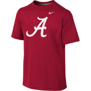 Nike Youth Alabama Crimson Tide Crimson Sideline Logo Legend T-Shirt