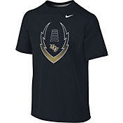 Nike Youth UCF Knights Football Icon Legend Black T-Shirt