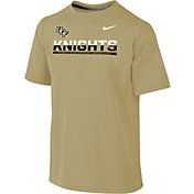 Nike Youth UCF Knights Gold Legend Staff Sideline T-Shirt