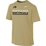 Nike Youth Colorado Buffaloes Gold Legend Staff Sideline T-Shirt