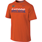 Nike Youth Florida Gators Orange Legend Staff Sideline T-Shirt