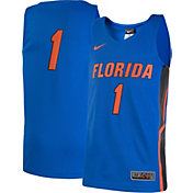 Nike Youth Florida Gators #1 Blue Replica ELITE Basketball Jersey
