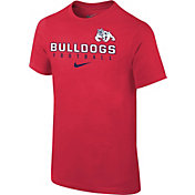Nike Youth Fresno State Bulldogs Cardinal Core Facility Football Sideline T-Shirt