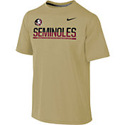 Nike Youth Florida State Seminoles Gold Legend Staff Sideline T-Shirt