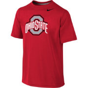 Nike Youth Ohio State Buckeyes Scarlet Sideline Logo Legend T-Shirt