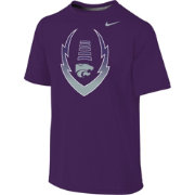 Nike Youth Kansas State Wildcats Purple Football Icon Legend T-Shirt