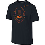Nike Youth Oklahoma State Cowboys Football Icon Legend Black T-Shirt