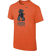 Nike Youth Oklahoma State Cowboys Orange 2016 Football Fan T-Shirt