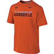 Nike Youth Oklahoma State Cowboys Orange Legend Staff Sideline T-Shirt