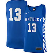 Nike Youth Kentucky Wildcats #13 Blue Replica ELITE Basketball Jersey