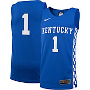 Nike Youth Kentucky Wildcats #1 Blue Replica ELITE Basketball Jersey