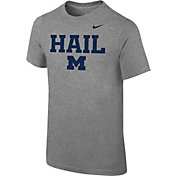 Nike Youth Michigan Wolverines Grey 'Hail' Authentic Local T-Shirt