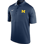 Nike Youth Michigan Wolverines Blue Varsity Performance Polo