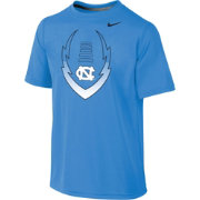 Nike Youth North Carolina Tar Heels Carolina Blue Football Icon Legend T-Shirt