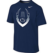 Nike Youth Penn State Nittany Lions Blue Football Icon Legend T-Shirt