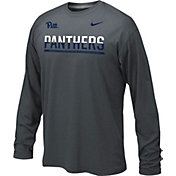Nike Youth Pitt Panthers Anthracite Staff Sideline Long Sleeve Shirt