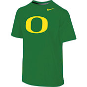 Nike Youth Oregon Ducks Apple Green Sideline Logo Legend T-Shirt