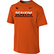 Nike Youth Oregon State Beavers Orange Legend Staff Sideline T-Shirt