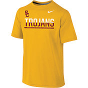 Nike Youth USC Trojans Gold Legend Staff Sideline T-Shirt