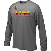 Nike Youth USC Trojans Staff Sideline Long Sleeve Shirt