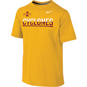 Nike Youth Iowa State Cyclones Gold Legend Staff Sideline T-Shirt